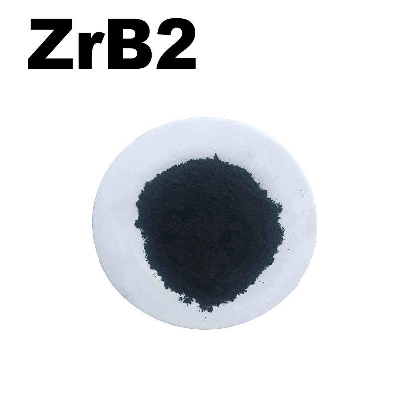 ZrB2 High Purity Powder 99.9% Zirconium Diboride For R&D Ultrafine Nano Powders About 1 Micro Meter For Ceramic Materials