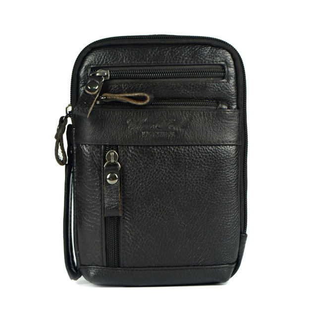 Cuero genuino pequeñas bolsas de mensajero para hombre crossbody del bolso de hombro ipad mini bolsos pecho piel de vaca packs hombre del bolso de hombro