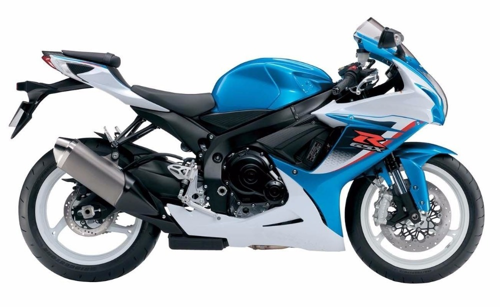 Blue Red Black White Complete Injection Fairing kit ...