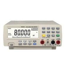 VC8145 настольный цифровой мультиметр Высокая точность двойной дисплей мультиметр Автозапуск цифровой Настольный верхний мультиметр 110-220 В