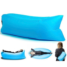Foldable Lounger Outdoor Inflatable Sofa Adult Lazy Sofa Laybag Air Sleeping Bed For Picnic Beach Mountaineering Sports Outdoor