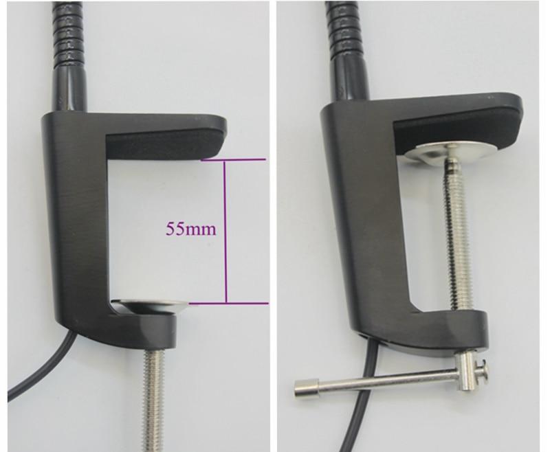 110V 220V 5W Flexible Led Desk Light in Desk Lamps from Lights Lighting