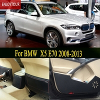 Car Pads Front Rear Door Seat Anti Kick Mat Car Styling Accessories For BMW X5 E70