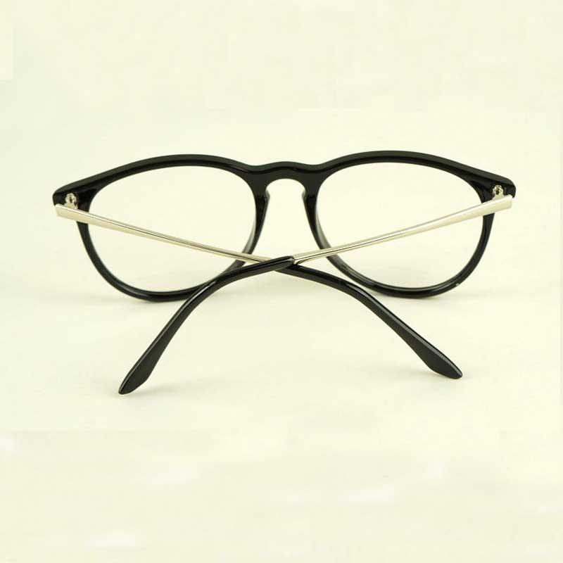Moda retro 2017 Gafas mujer gafas vintage lente redonda Marcos metal  piernas alta calidad unisex Plain Gafas ojo Gafas en Gafas de sol de  Accesorios de ropa ... b3349880e686