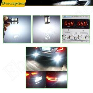 Image 5 - Para 1156 BA15S P21W samochodowe światło led 2835 56 SMD światła Backup rewers żarówka światła kierunkowskazu lampa DRL Voiture Car Styling biały 6V DC