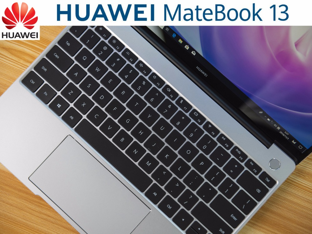 US $887 86 19% OFF|2019 Best HUAWEI MateBook 13 Inch Laptop Notebook PC  With 8th Generation Intel Core i7 8565U Processor 4 1GHz 8GB Ram 512GB  SSD-in