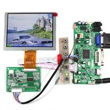 HDMI DVI VGA Audio Lcd Control board 5inch ZJ050NA-08C 640×480 Lcd panel