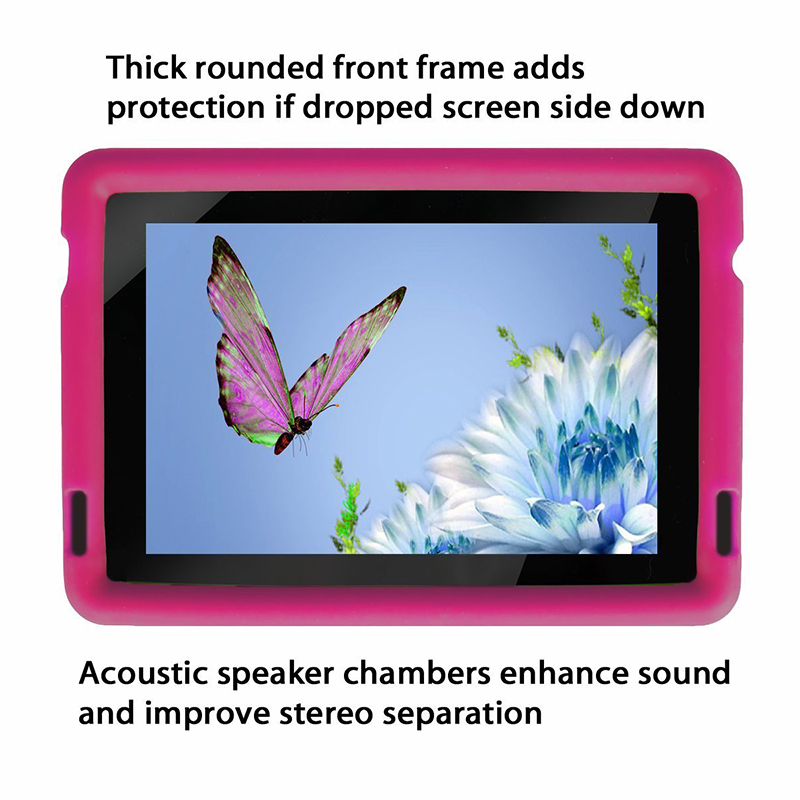 MingShore Silicone Soft Case For Amazon 3rd Gen Kindle Fire