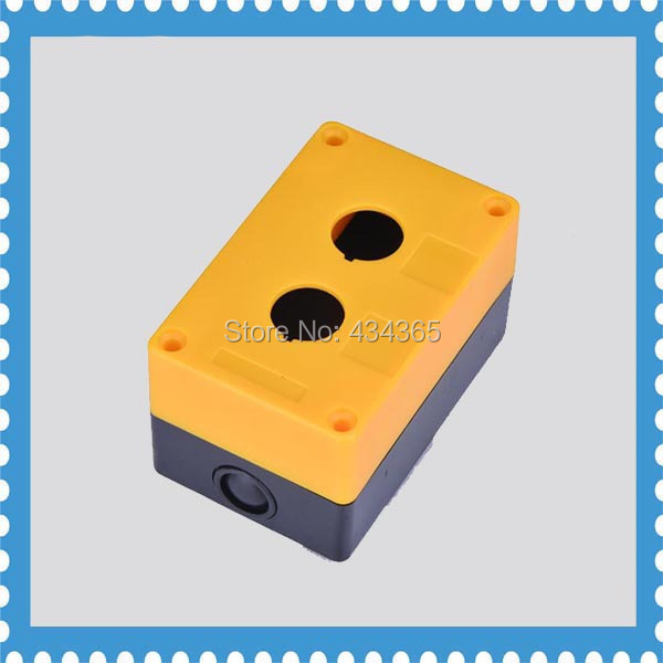 Station Control Plastic Box 2 hole 22mm Switch Push Button Case Box swtich protector box