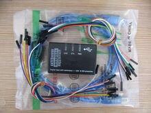 USB Analisador Lógico saleae16 Lógica 100MHz 16Ch Logic16 para ARM FPGA