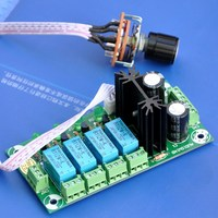 Audio Input Selector Relay Board With 12V Regulator
