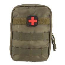 Tactical Molle Bolsa de Kit de Primeros Auxilios de Emergencia EMT Médico Militar Paquete de Viaje Al Aire Libre de la Caza de