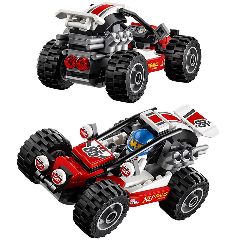 Bela 10644 City Series Buggy Tough Vehicle Racing Car 60145 Building Block 87pcs Bricks Toys Gift For Children enlightment 1120 city series recreation vehicle minifigure building block 380pcs bricks toys best toys compatible with legoe