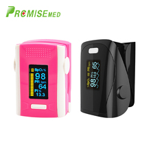 PR+MISE  M110red+F9coolblack Household Health Monitors Finger Pulse Oximeter ABS Silicone Sensor Equipment Pulsioximetro