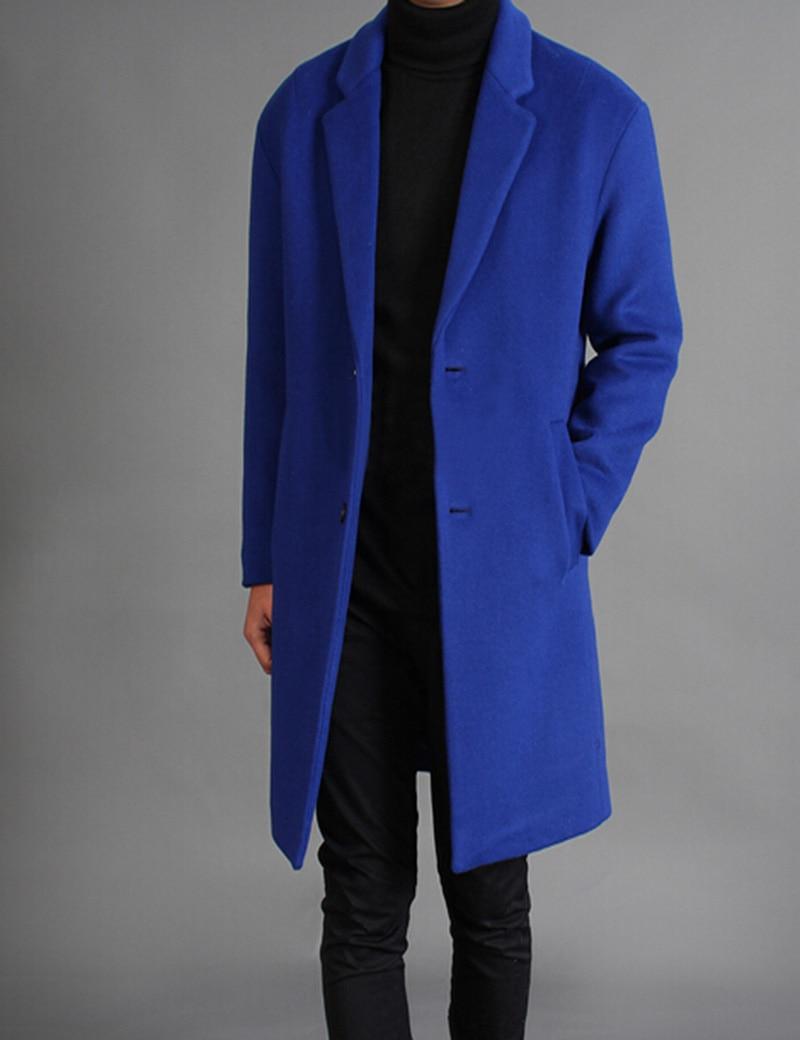 Popular Long Mens Blue Trench Coat-Buy Cheap Long Mens Blue Trench