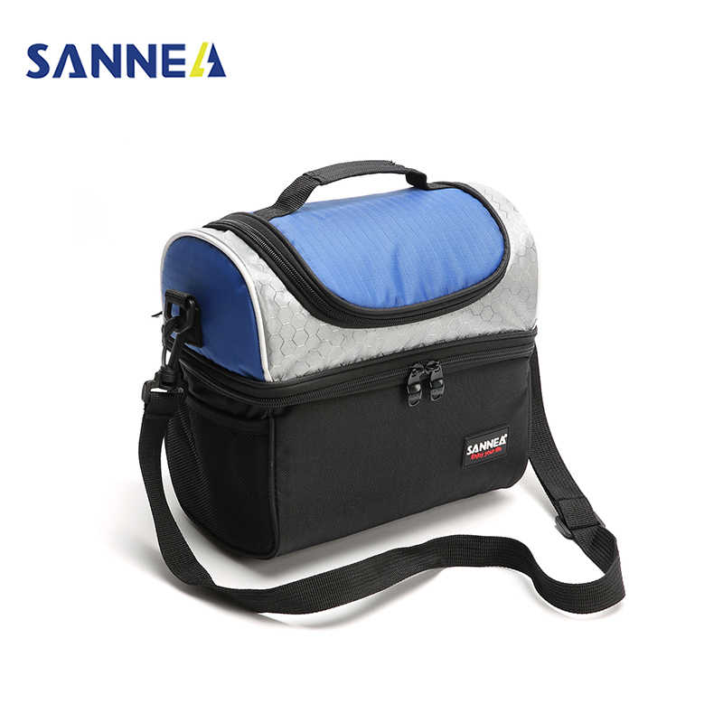be1f2f94c656 SANNE 7L Adult Lunch Box Insulated Lunch Bag for Men Women Double Deck  Cooler Food Tote for Work-for Sandwich Fruit Drink