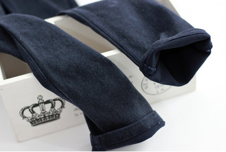 HTB1HbnOXdjvK1RjSspiq6AEqXXay New 2018 Washed Women Imitation Jeans Mujer Stretch Cotton Denim Pants Trousers Boyfriend Big Size Skinny Jeans Pencil Pants