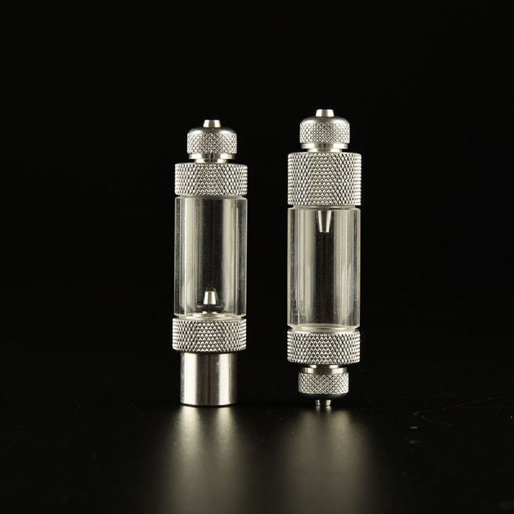 Aquarium fish tank co2 atomizer system - 10pcs Aquarium Single Dual Head Co2 System Bubble Counter Regulator Diffuser Reactor Built In Check