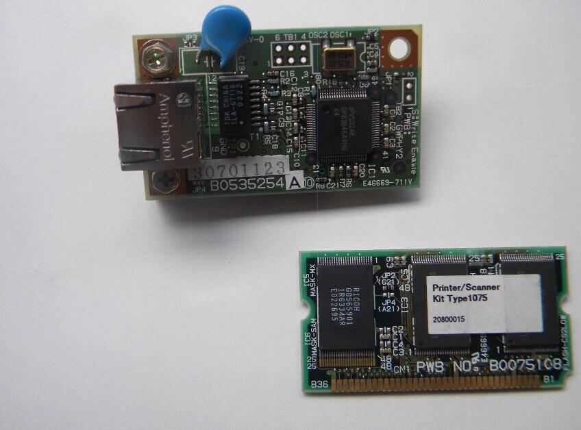 FOR RICOH 1075 1224C NETWORK CARD PRINTER SCANNER KIT TYPE 1075 B0075108 B0535254