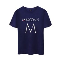 WANGCANGLI 2017 Maroon 5 Rock Band Printed New Style Cool Men Top Short Sleeve Cotton T