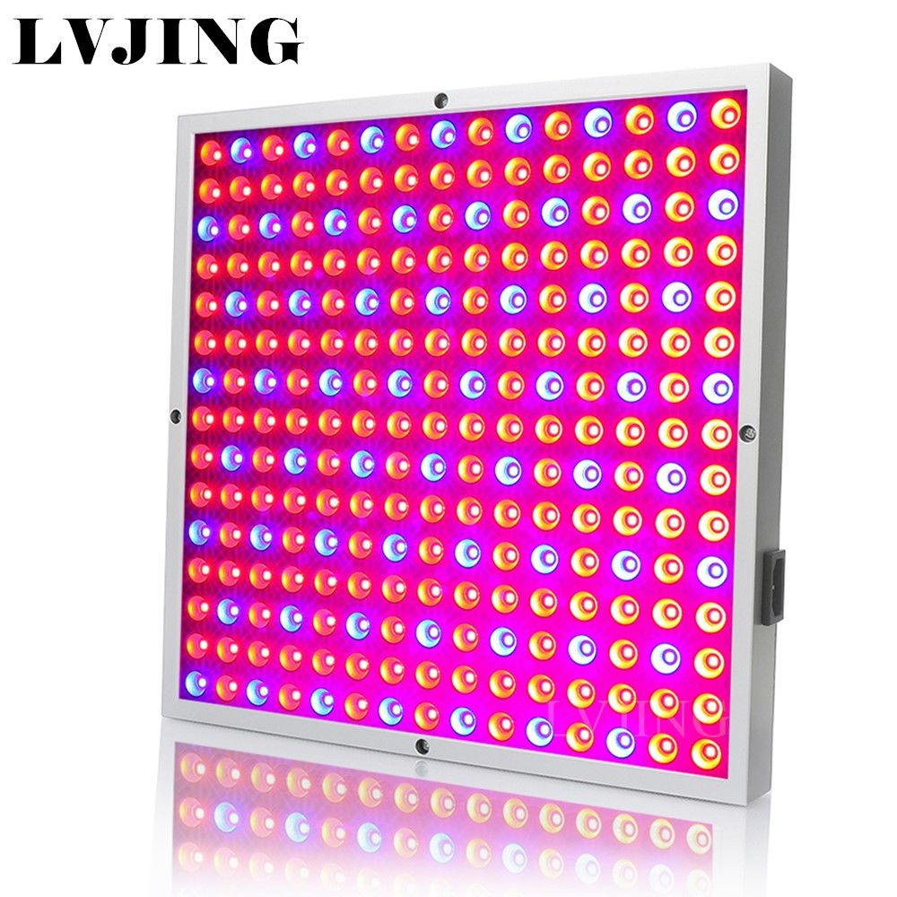 225 LEDs Grow Light Full Spectrum 45W LED Panel Grow Lamp for Greenhouse Horticulture Indoor Plant Flowering Growth 8pcs 132w full spectrum led grow light plant growing lamp for flower vegetables horticulture grow light garden flowering plant