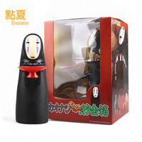DIANXIA 2017 New Arrival Anime No Face Faceless Men Can Deposit Coins Piggy Bank Creative Cute