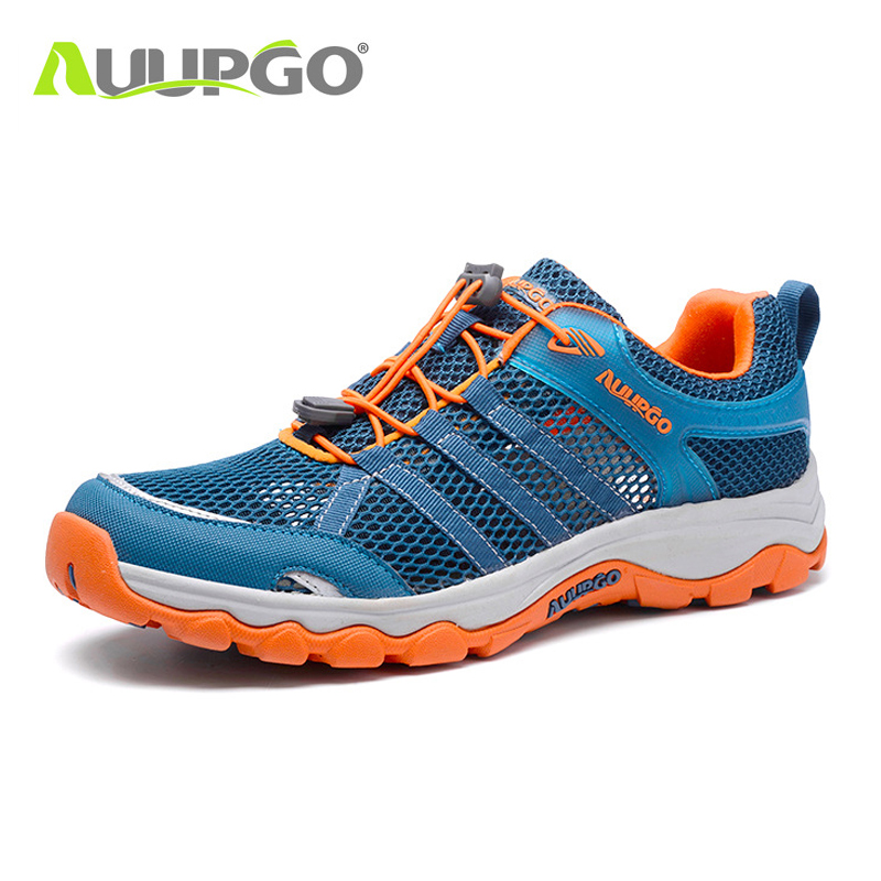 AUUPGO upstream shoes women adult cycling hiking wading MTB shoes water sports sneakers men summer leisure ultralight drainage summer cycling dancing leisure flat shoes for men
