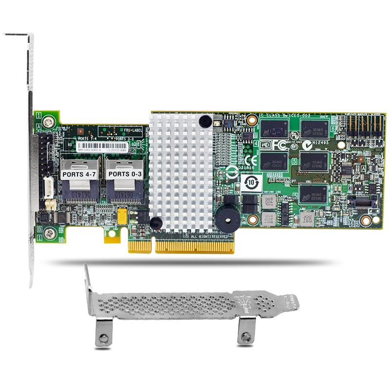 где купить 8 Port SATA SAS 6Gb Raid Controller Card 512MB Cache MegaRAID 9260-8i for Server дешево