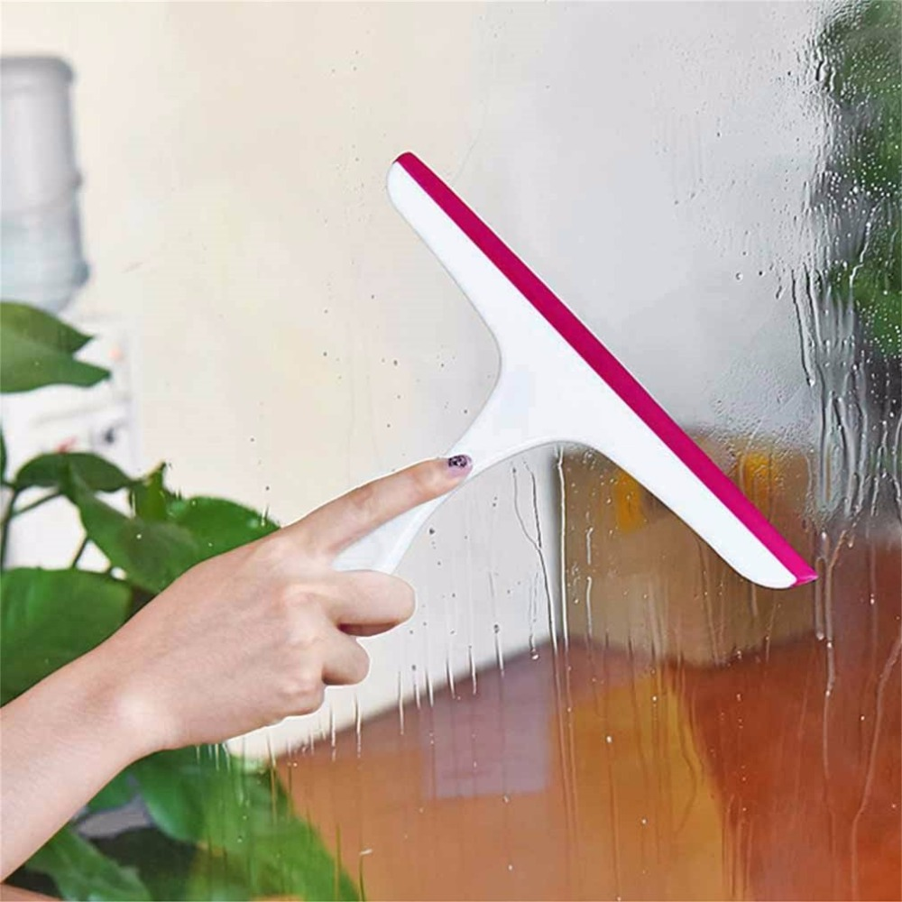 Universal Scraping Clean Window Glass Blowing Cleaner Wiper Bathroom Floor Tiles Cleaner Squeegee For Home Mirror Car Useful