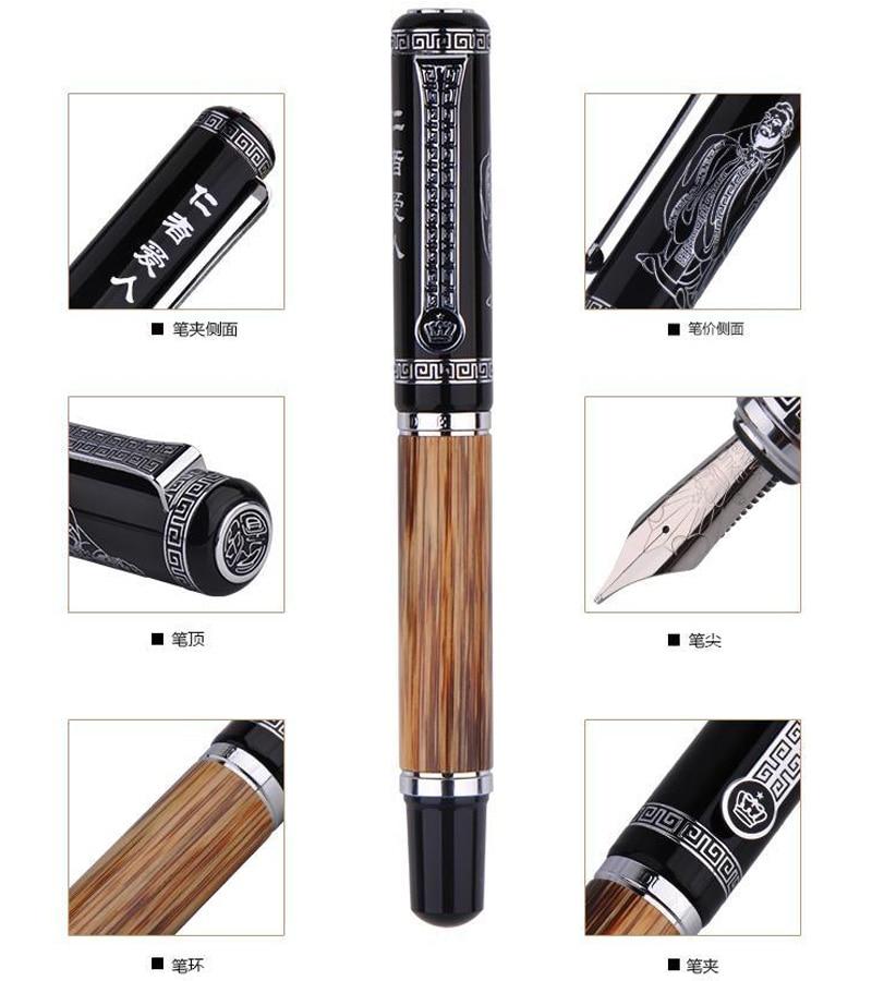 цена на Calligraphy Fountain Pen Original Duke Confucius Series office and school stationry Free Shipping