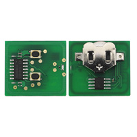 Jingyuqin 3pcs Lot 2 Button Remote Key FOB ID40 Chip Electronic Board For Vauxhall Opel Astra