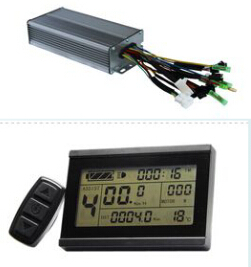 800W-1000W 35Amax 48V Brushless DC Motor Controller Ebike Controller +KT-LCD3 Display One Set kbs48101x 40a 24 48v mini brushless dc controller