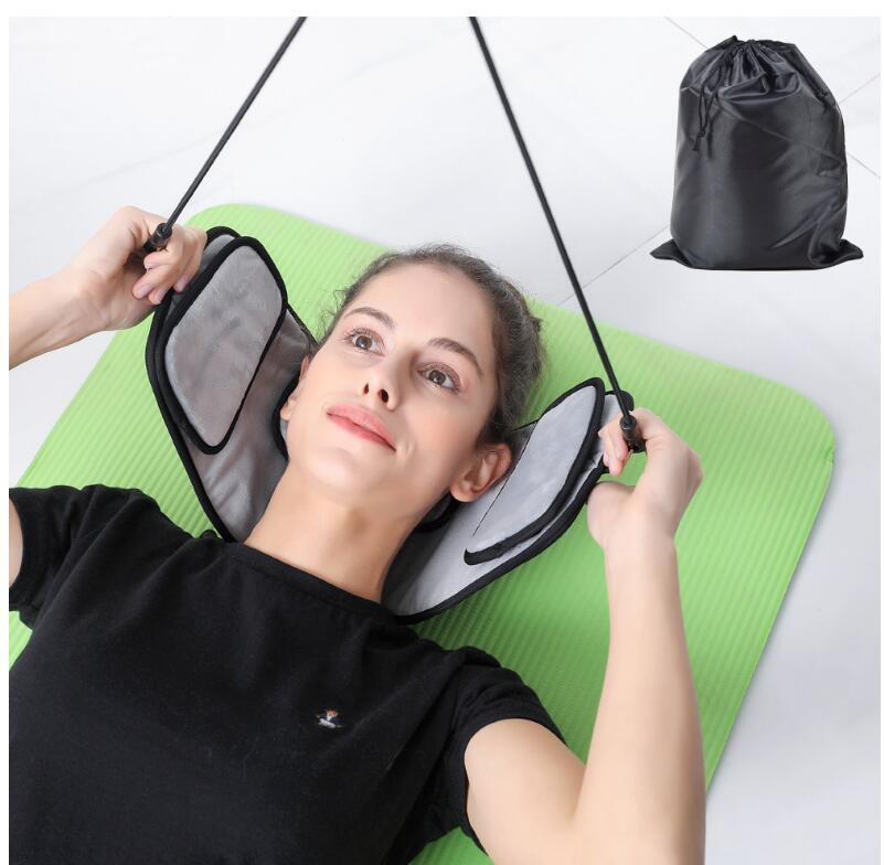 Портативный облегчение боли в шее гамак массажер для шеи пены подушка с ворсом подушка для Офис