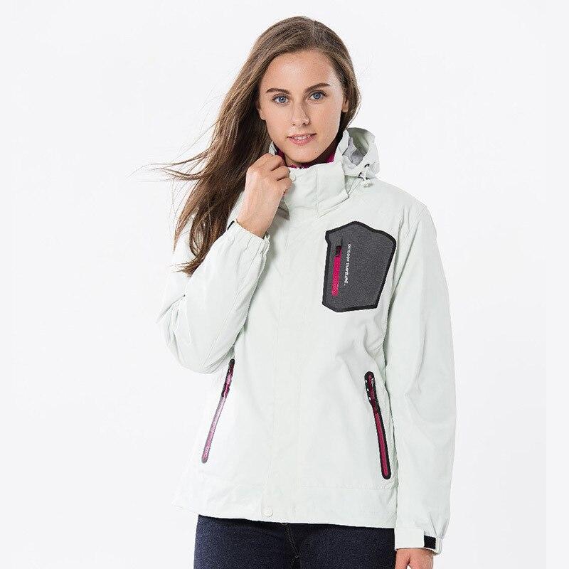 Femmes coupe-vent loisirs de plein air vestes femme garder au chaud Sports de plein air vestes femmes mode militaire imperméable manteau AA52084