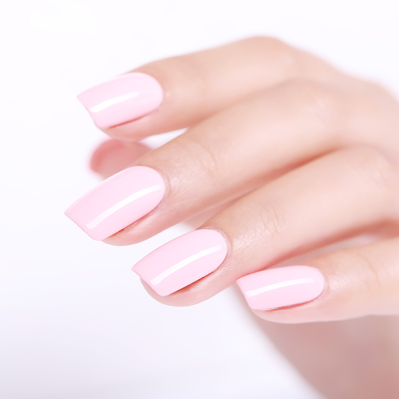 UR SUKKER 7,5 ml Soak Off UV Gel Polsk Gul Serie Pure Color Nail Art - Negle kunst - Foto 6