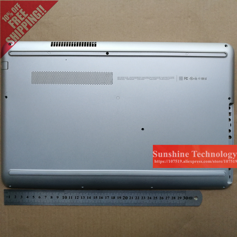 New laptop bottom case cover for HP  Pavilion Notebook 15Z-AW000 TPN-Q175 15-AU178TX TPN-Q172 15-AU178TX TPN-Q172 white/sliver