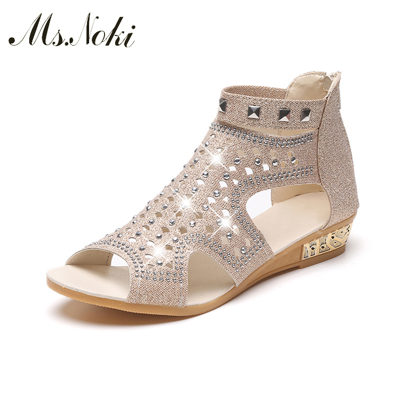 Ms. Noki Bling Crystal Buckle strap Narrow Band good quality women shoes Summer 2017 fashion casual shoes non-slip sole for girl nis ladies ballerina flats pointed toe moccasins casual flat shoes slip on for women black gray pink sky blue zapatos mujer