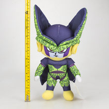 2 tipos 30 cm Anime Dos Desenhos Animados Dragon Ball Z Vegeta Freeza Celular Plush Soft Toy Stuffed Boneca(China)