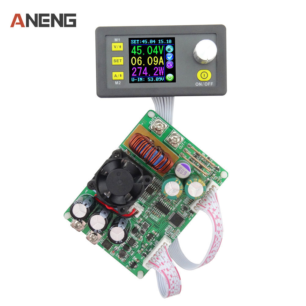 DPS5015 LCD Voltmeter ammeter 0V-50V 0-15A Constant Voltage Current Step-down Programmable Power Supply Module f85 5a adjustable power cc cv step down charge module digital voltmeter ammeter display led driver for arduino
