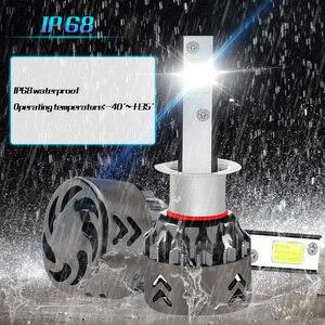 Image 5 - Nowości żarówki samochodowe LED H4 H7 H11 H1 H8 H9 reflektor samochodowy 9005 HB3 9006 HB4 reflektory samochodowe 12V 6000LM 36W Led światła