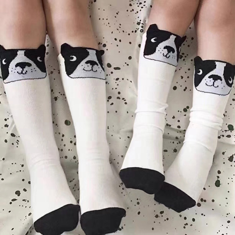 Cute Cartoon Children Sock Print animal Baby Kid Sock Knee High Long dog  Socks For Toddler Girl Clothing Accessories summer-in Tights   Stockings  from ... 9fe361446