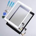 Para ipad air 1 ipad 5 pantalla táctil digitalizador completado asamblea parte y botón de inicio y herramientas gratuitas envío gratis