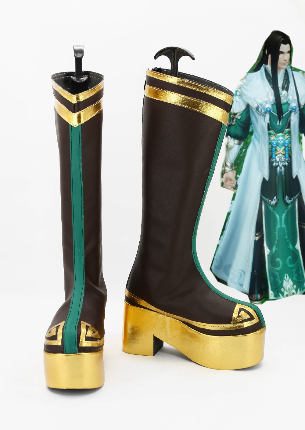 World 3 Game Cosplay Shoes Boots