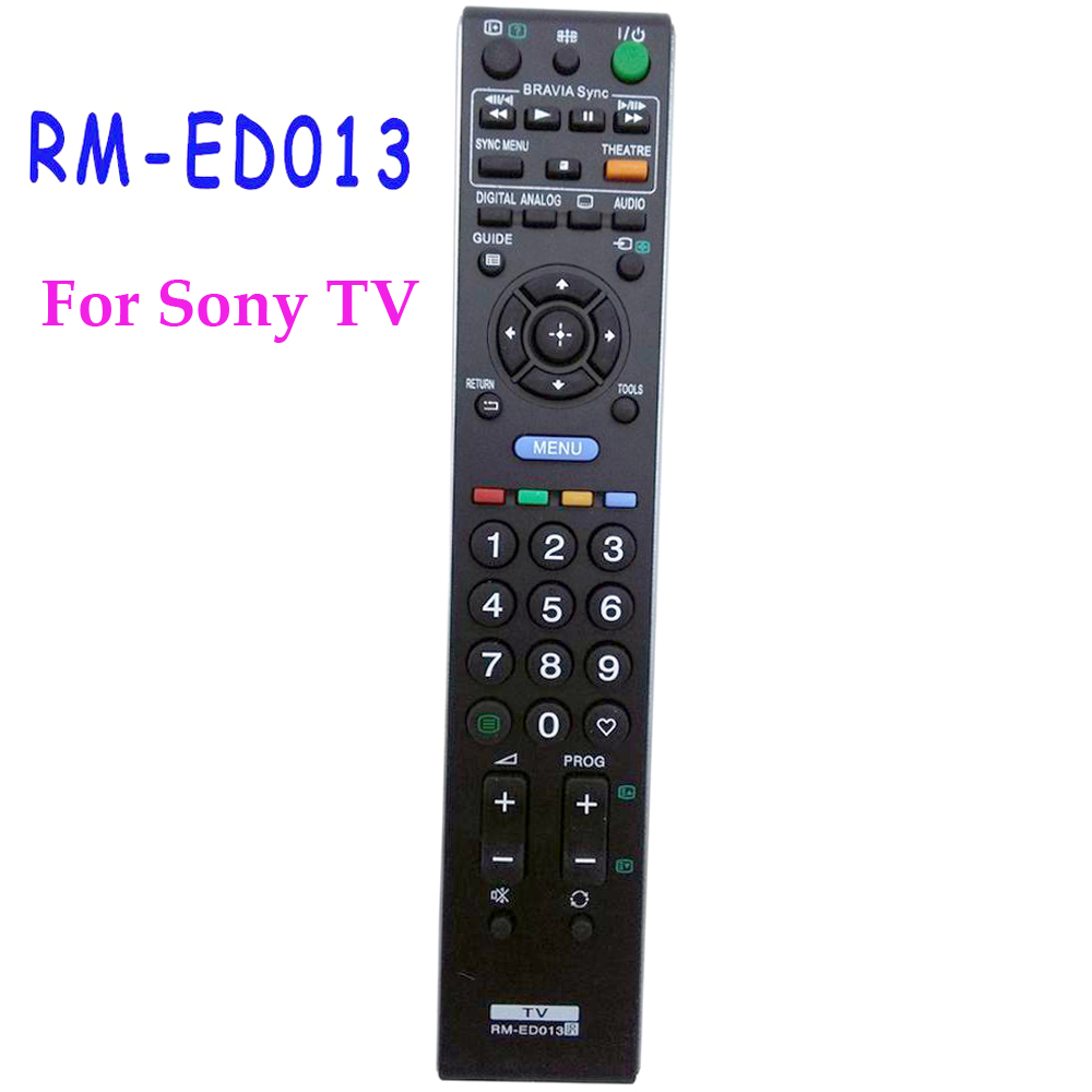 New Replacement Remote control RM-ED013 REMOTE CONTROL FOR SONY TV Fernbedienung