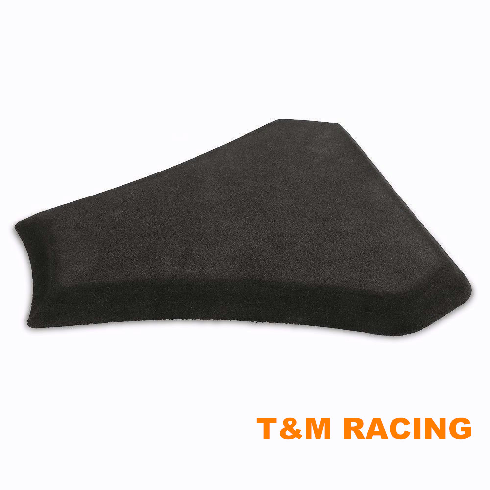 Motorcycle Race Foam Seat Pad Black Universal 15mm/20mm thick yamah hond ducat