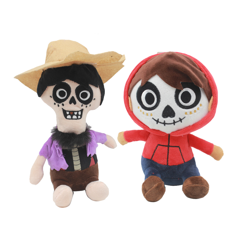 20-25cm Movie COCO Pixar Character 2018 New Plush Toys Miguel Hector Stuffed Soft Plush Doll Children plush Gifts toy