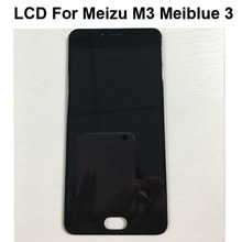 High Quality  Hot sale LCD Display Digitizer Touch Screen Assembly Cellphone 5.0″ lcd Black Color In Stock For Meizu M3 mini