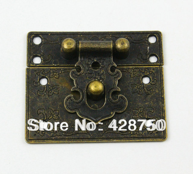 Aliexpresscom Buy Antique Brass Jewelry Box Hasp Latch Lock