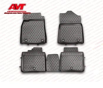 Коврики для Lexus ES 250/350, 300 h, 2012-4 шт резиновые коврики Нескользящие резиновые внутренние аксессуары для стайлинга автомобилей