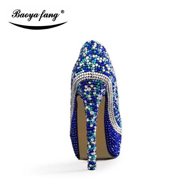 Mode 14cm Ensembles Bleu Partie 8cm Cyrstal Shoesshoes Haute 11cm Et Chaussures 11cm Couture Bag Royal Robe Pompes Talons Sac Mariage 14cm With Heel Femmes Heel De Bag Shoe Assorti Bag 8cm Heel zAwqnd8